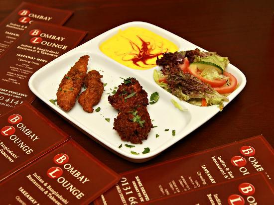Bombay Lounge: Food Sample