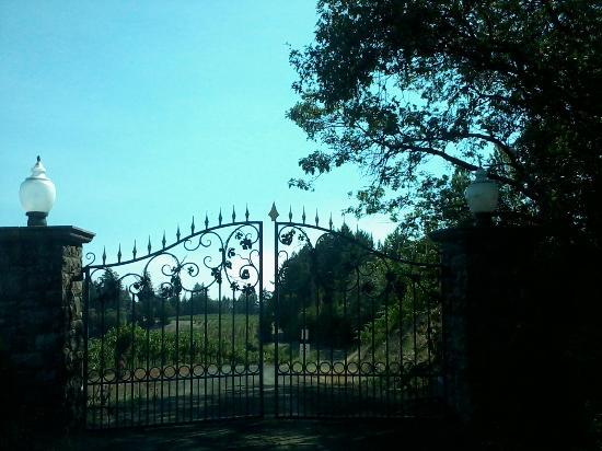 Schweiger Vineyards: Entrance to Schweiger