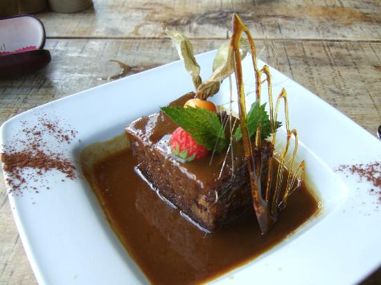 Cross Butts Stables Restaurant: STICK TOFFEE PUDDING. ENOUGH SAID!