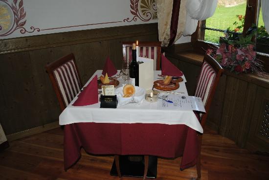 Hotel Nordik: Tavolo ristorante