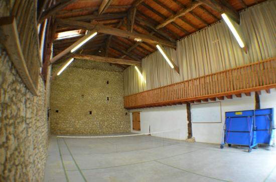 Saint Julien d'Eymet, France : Activity Hall