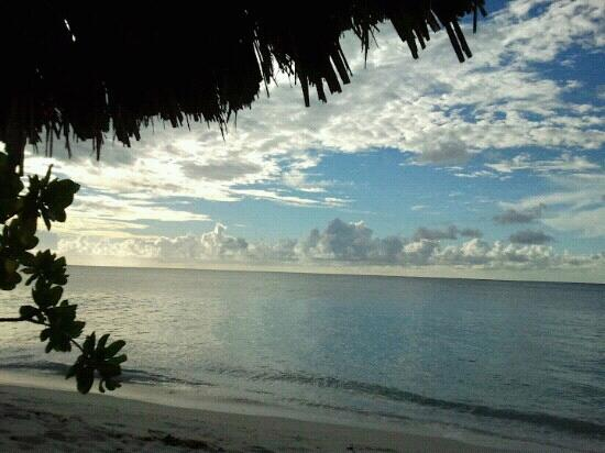 Denis Private Island Seychelles: view from my room at dawn