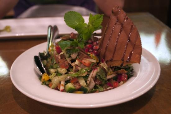Damas Restaurant : Fattouch Salad (small)