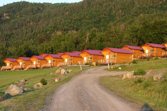 كنيك ريفر لودج: Cabins 