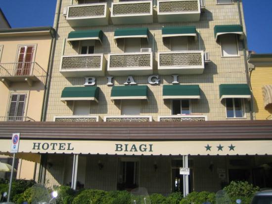 Lido di Camaiore, Włochy: biagi hotel vista 1