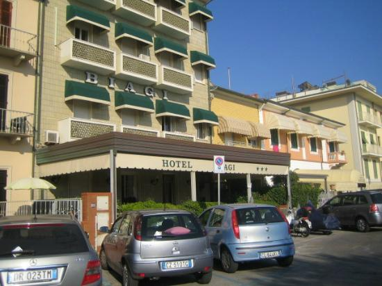 Lido Di Camaiore, Italia: biagi hotel vista 2