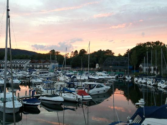 Windermere Marina Village: Room with a view!