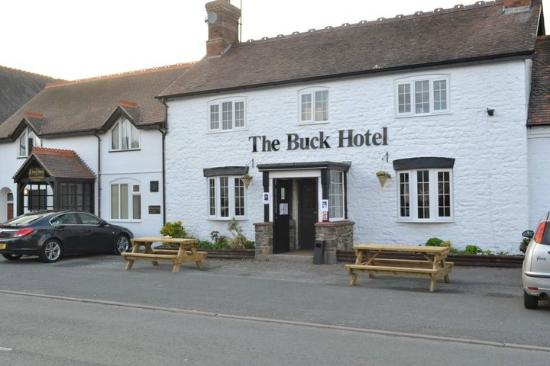 The Buck Hotel: Front of the Buck