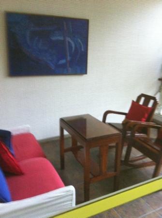 Casa de Las Bugambilias B&B: balcony of margaritas suite