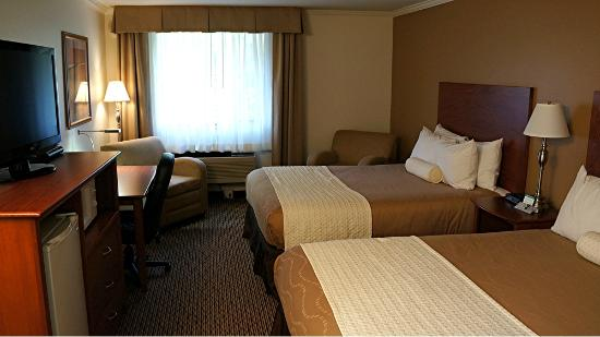 BEST WESTERN Tumwater Inn : Our Room at the Tumwater Inn