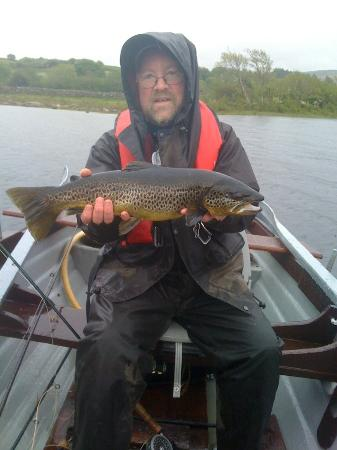 Nonaim Lodge Angling & Accommodation : A breakfast trout!
