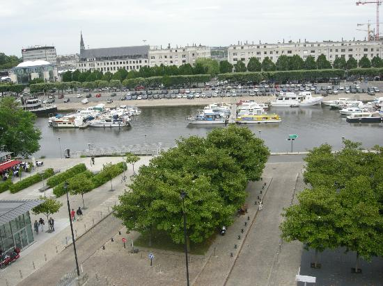 Novotel Nantes Centre Gare : View from my room