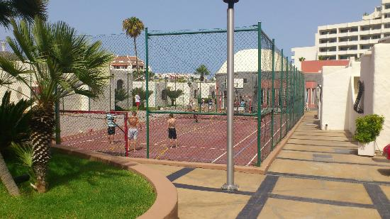 HD Parque Cristobal Tenerife: Where the kids disco is in the evening - access all day