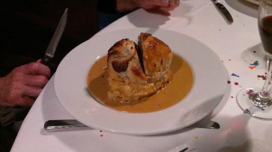 Hitchin, UK: Beef Wellington