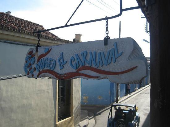 Museo del Carnaval : L'insegna