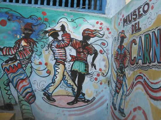 Museo del Carnaval : Murales all'ingresso