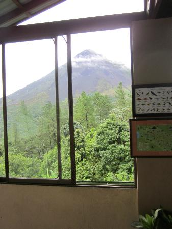 Arenal Observatory Lodge & Spa: View from common area