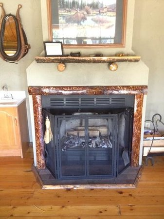 Bar-N-Ranch: fireplace