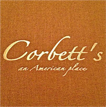 Corbett's An American Place: Corbett's