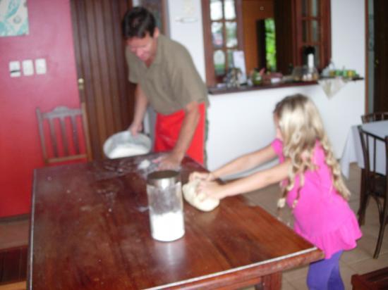 Pousada Tagomago Beach Lodge: Buddha Teaches us to Make Fresh Pasta