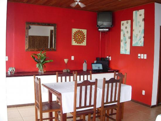 Pousada Tagomago Beach Lodge: Dining Room