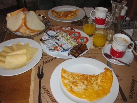 Restoran-Pansion Plitvicka Sedra: Breakfast for 2 (ham available too)