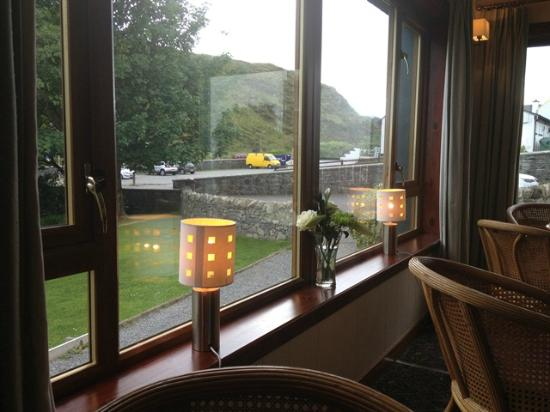 Harris Hotel: View from Relaxing Lounge