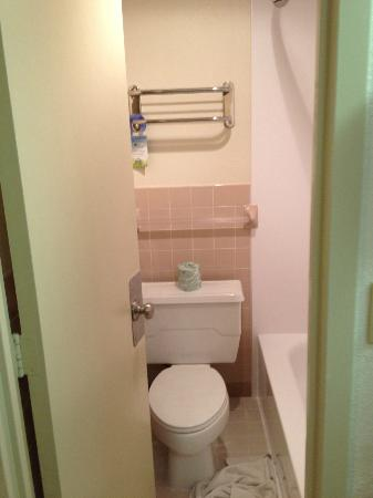 Centerstone West Chester Inn: Teeny tiny little bathroom