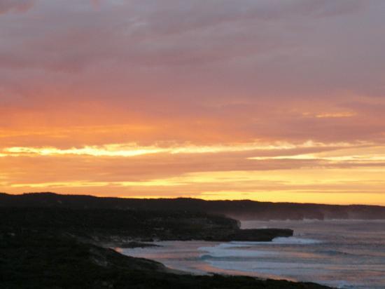 Sunrise at Southern Ocean Lodge