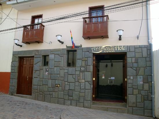 Antawasi Hotel: Nice entrance
