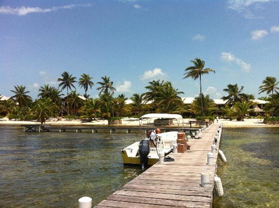 El Pescador Resort: From the dock