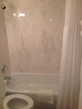 Rodeway Inn: new marble shower walls and very clean