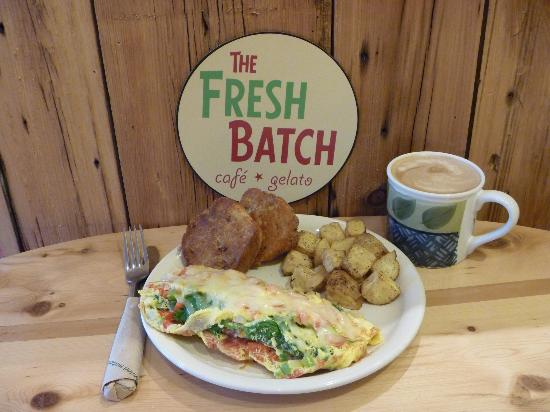 The Fresh Batch: Great for breakfast, lunch, and dinner plus homemade sweets, gelato, local beer. . . and on and