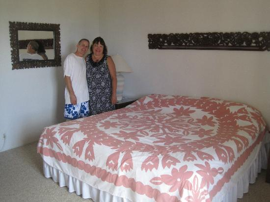 Ekena: One of the bedrooms