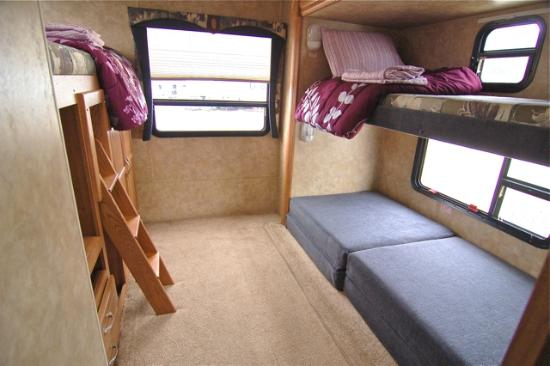 Paradise shores rv park bridgeport ca picture of for Rv loft bed
