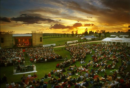 Wyndham Estate: Sunset at Opera in the vineyards