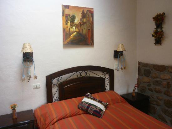 La Capilla Lodge: Cantu - Cosy room with 1 double bed and en-suite bathroom.