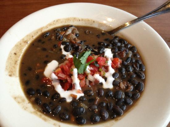 J. Alexander's: Black bean soup