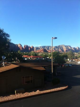 The Andante Inn of Sedona: view