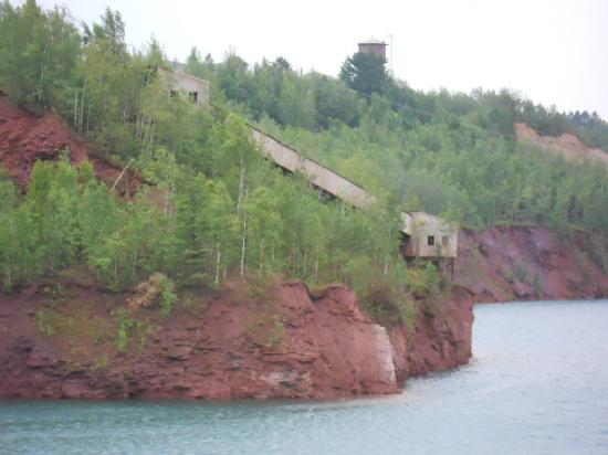 Calumet, MN: view of the mine