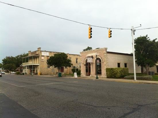 Boerne Visitor Center: historic downtown Boerne Texas
