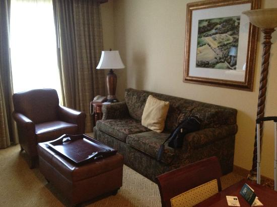 Homewood Suites by Hilton Jackson Ridgeland: plenty of room to stretch out