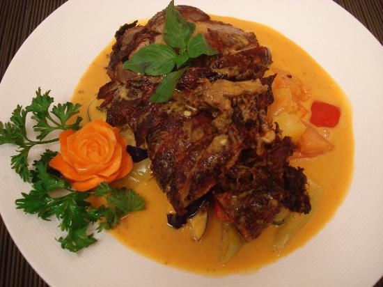 Thai Spice: curry duck