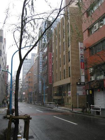 City Hotel Lonestar: Street frontage