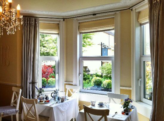 Brindleys Boutique Bed & Breakfast Hotel: Breakfast Room
