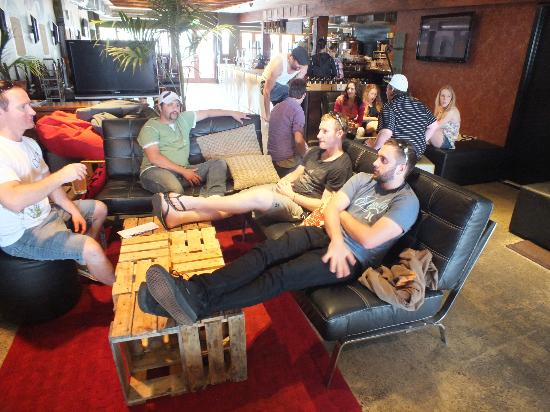 Deep Creek Brews & Eats : View from the lounge