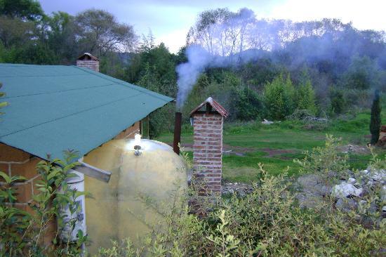 Centro Ecoturistico del Lago: Cabañas con temazcal y chimenea