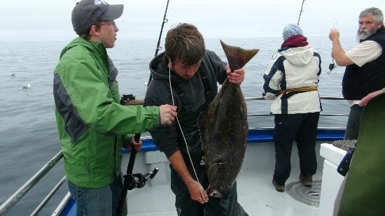 Bob's Trophy Charters - Day Trips: Nauti Lady Halibut
