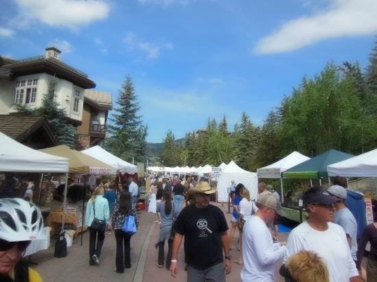 ‪ماريوت ستريم ساي دوجلاس آت فيل: Vail Farmers Market and Craft Mart