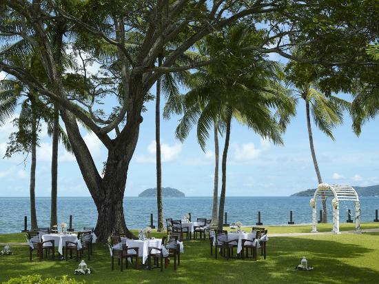 Shangri-La's Tanjung Aru Resort & Spa: Tee-time